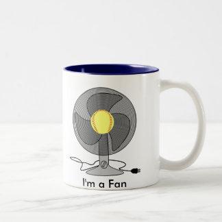 Fastpitch Softball Fan Coffee Mug