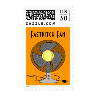 Fastpitch Softball Fan Stamps