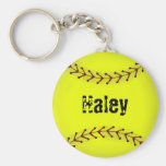 Fastpitch Softball Fashion Keychain