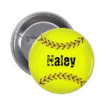 Fastpitch Softball Flair Button