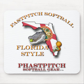 Fastpitch Softball Flordia Style Mouse Pad