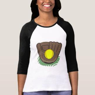 Fastpitch Softball Glove T-shirt