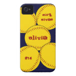 Fastpitch Softball iPhone 4 Case