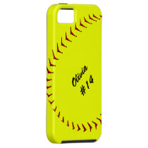 Fastpitch Softball iPhone 5 Case
