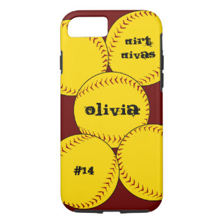 Fastpitch Softball iPhone 7 case