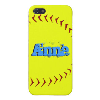 Fastpitch Softball iPhone SE/5/5s Case