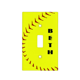 Fastpitch Softball Ligh Switch Cover