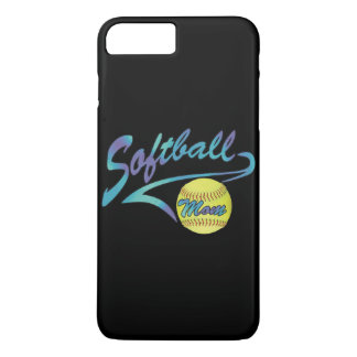 Fastpitch Softball Mom Athletic Tail iPhone 7 Plus Case