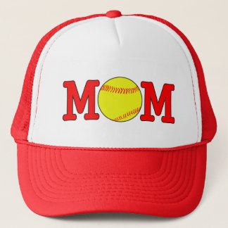 Fastpitch Softball Mom Trucker Hat