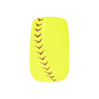 Fastpitch Softball Nails Minx Nail Wraps