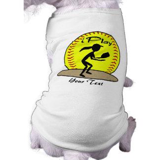 Fastpitch Softball Pet Shirt