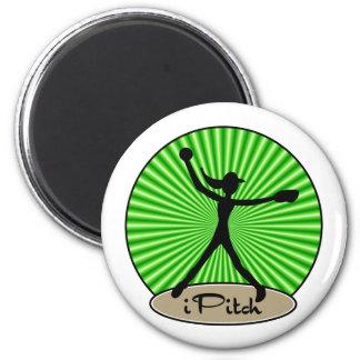 Fastpitch Softball Pitcher Magnet