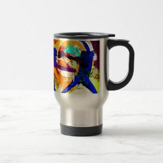 Fastpitch Softball Players 15 Oz Stainless Steel Travel Mug