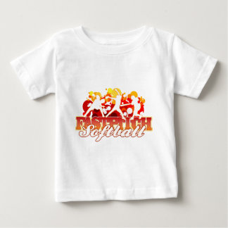 Fastpitch Softball Players Baby T-Shirt