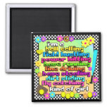 Fastpitch Softball Players Magnet
