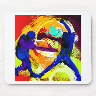 Fastpitch Softball Players Mouse Pad