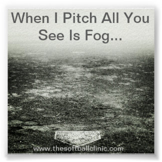 Fastpitch Softball Poster.. Pitching