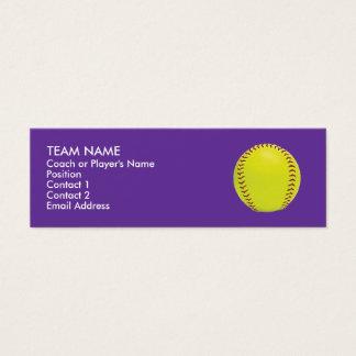 Fastpitch Softball Profile Cards