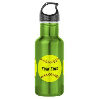 Fastpitch Softball Sports 18oz Water Bottle
