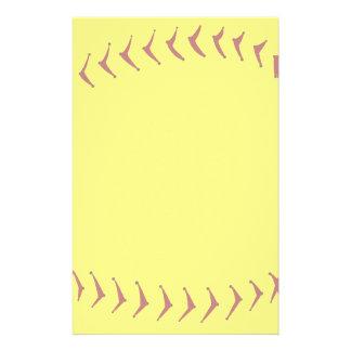 Fastpitch Softball Stationery