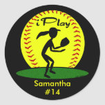 Fastpitch Softball Stickers