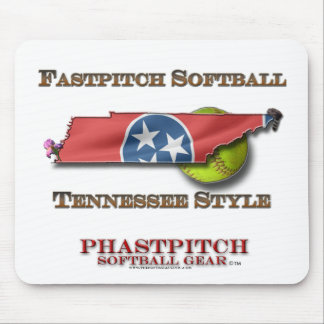 Fastpitch Softball Tennessee softball style Mouse Pad