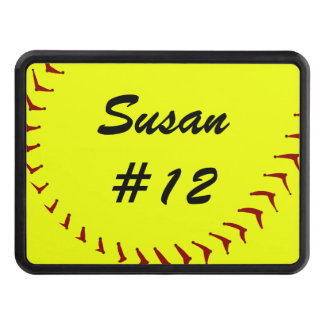 Fastpitch Softball Trailer Hitch Cover