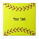 Fastpitch Softball Wall Tile