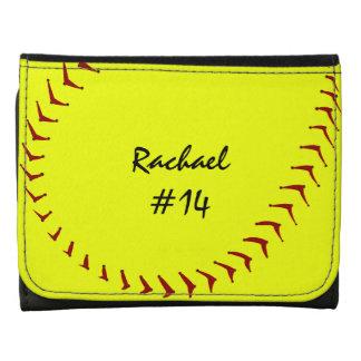 Fastpitch Softball Wallet