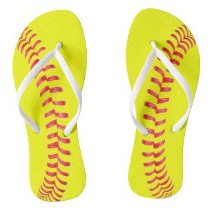 bbc8dbab0d43 Fastpitch Softball Women s Flipflop Sandals