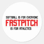 FastPitch Sticker