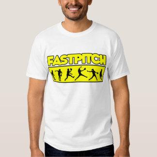 Fastpitch Strip, yellow T Shirt