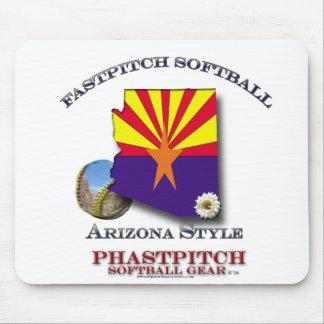 Fastptich Softball Arizona Style Mouse Pad