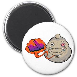 Fat 2 Inch Round Magnet