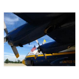 Fat Albert Blue Angels Postcard