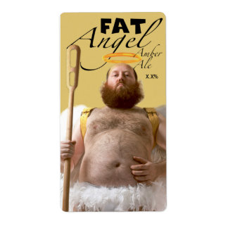 Fat Angel Amber Ale Label