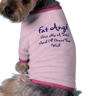 Fat Angel Dog T Shirt
