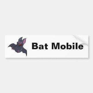 Fat Bat Mobile Bumper Sticker Car Bumper Sticker