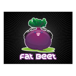 Fat Beet Postcard