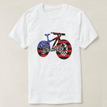 Fat Bike Flag T shirt