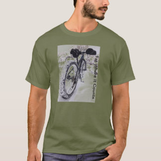 Fat Bike Mountain Bike T-Shirt