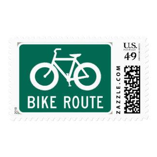Fat Bike Route Stamp