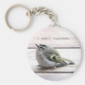 Fat Bird Keychain