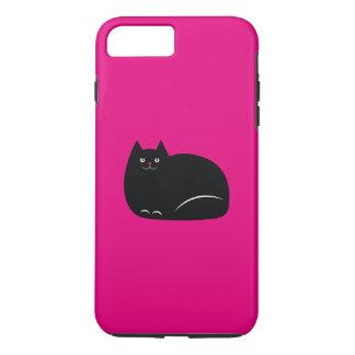 Fat Black Cat iPhone 8 Plus/7 Plus Case