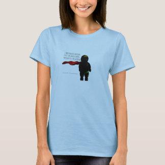 Fat Black Heroine Baby Doll T-Shirt