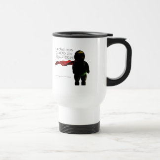 Fat Black Heroine Travel Mug