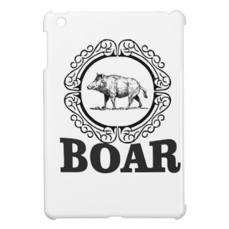 fat boar circle iPad mini case