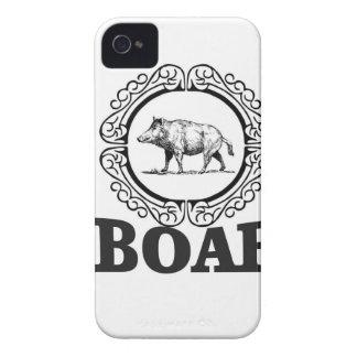 fat boar circle iPhone 4 Case-Mate case