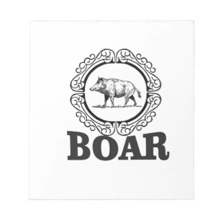 fat boar circle notepad