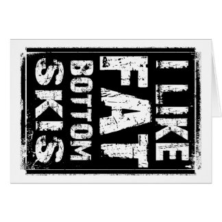 Fat Bottom Skis Card
